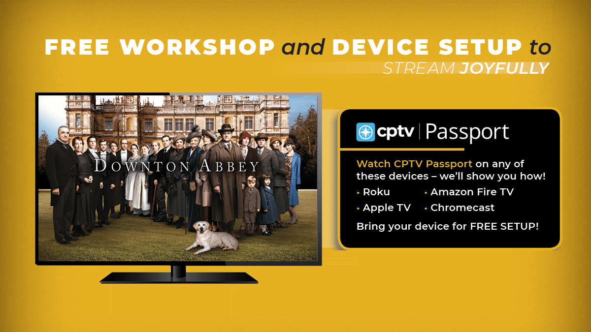 FREE Streaming Workshop with Device Setup and Lunch