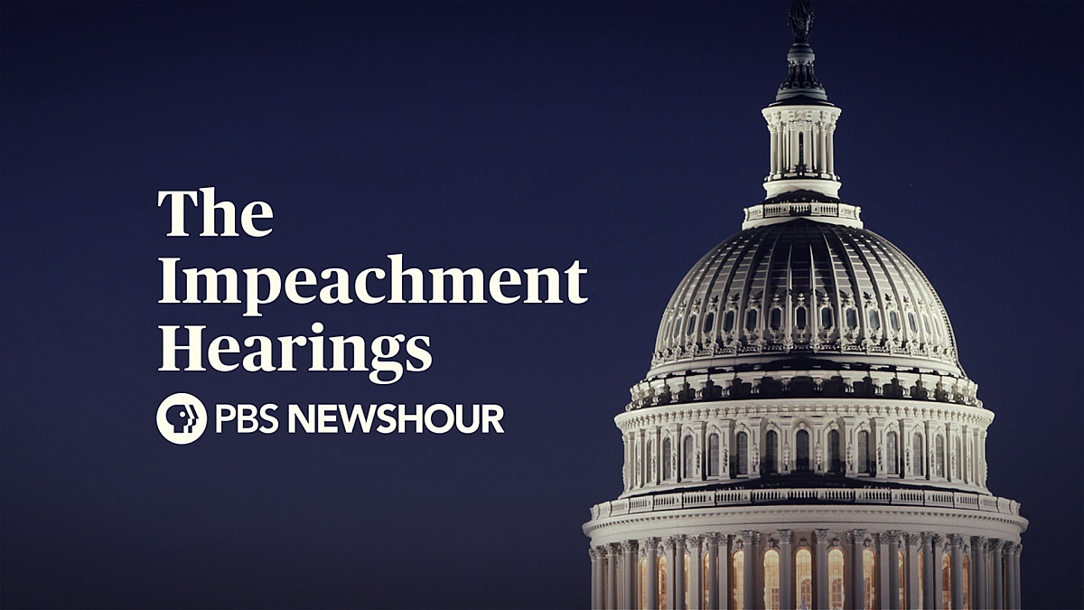 PBS NewsHour's Hearing Coverage
